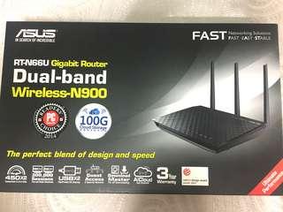 Asus RT-N66U Gigabit Dual-band Wireless-N900
