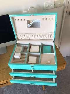 Tiffany Blue jewellery box
