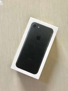 Kotak Box Asli Apple iPhone 7 Black Matte 32GB