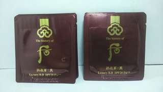 History Of Whoo BB Cream