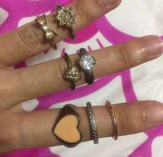 #blessings assorted rings