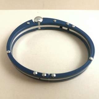 Men's Steel + Plastic Bangle 型男手鐲