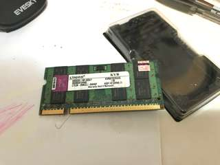 Kingston KVR667D2S5/2G RAM (Laptop)
