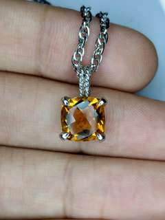 MOTHERS DAY SPECIAL - Natural Citrine Necklace