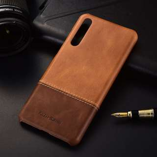 Huawei P20 Pro leather casing