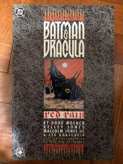 Batman & Dracula RED RAIN  GN 1992