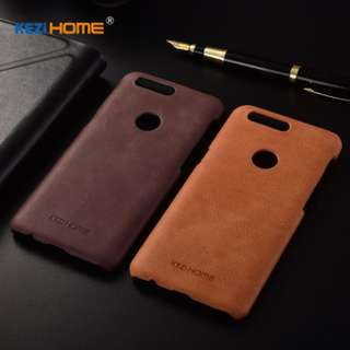 One Plus 5T leather casing