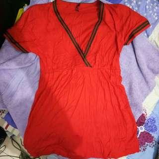 Baju Perempuan, Atasan Warna orange