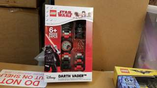[ 包順豐 ] Lego watch 8021018 Star Wars Darth Vader Watch
