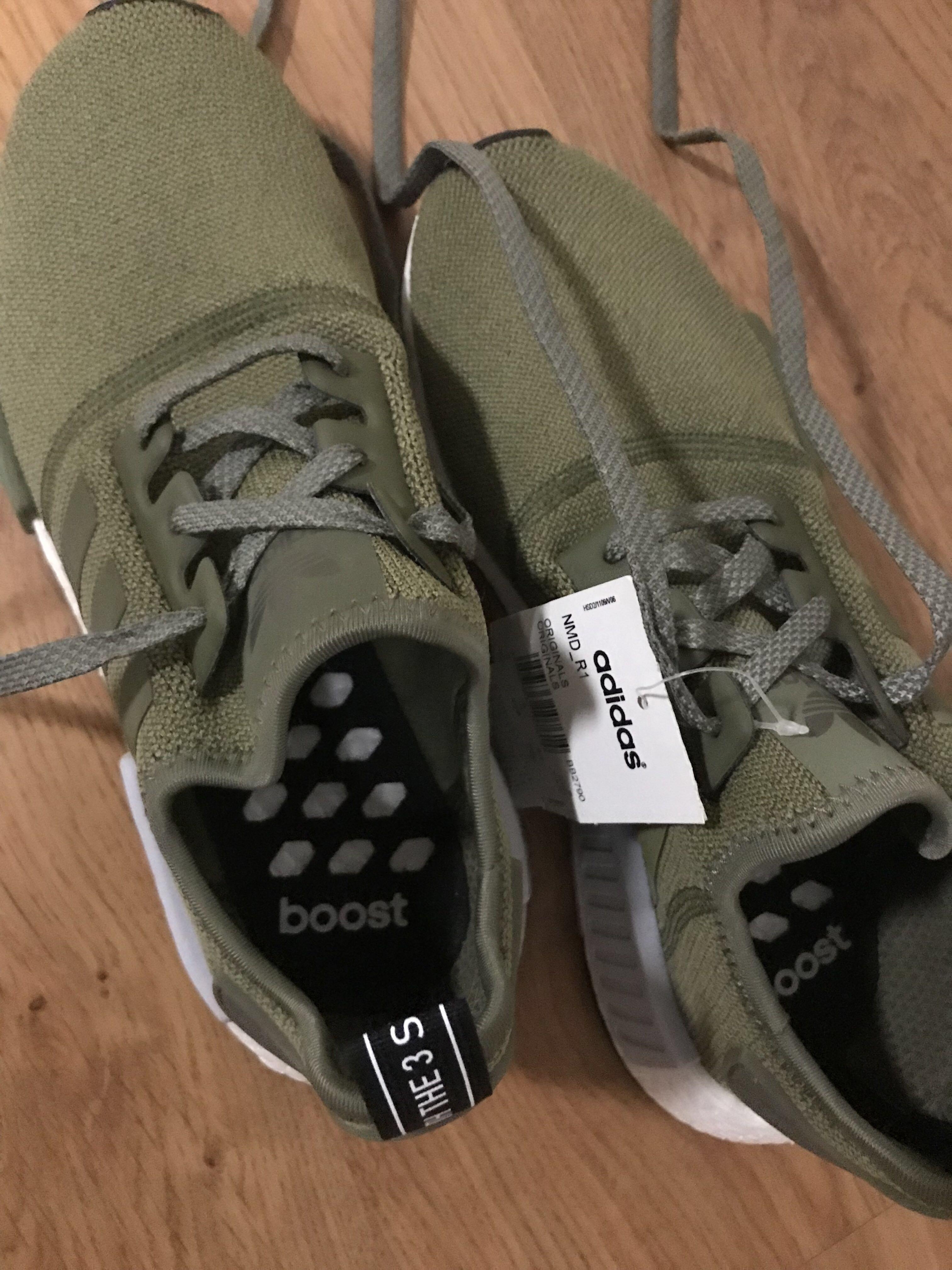 ed99e7e2ead4c Adidas NMD R1 - Olive Green