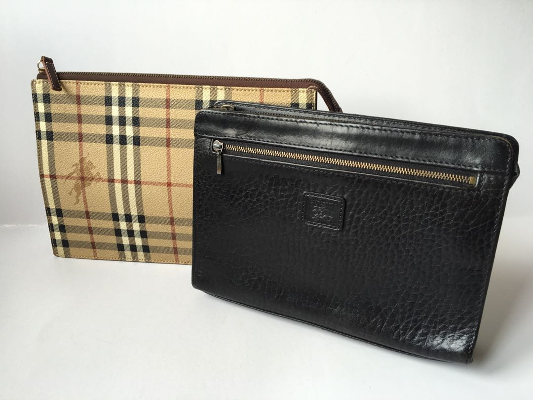 b02309c279b3 Authentic Burberry Vintage Clutch Bag in Combo Sales