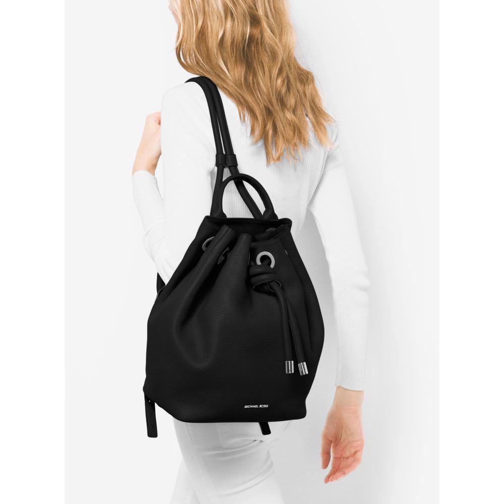 Authentic Michael Kors MK Dalia Drawstrings Backpack dd6b7a68e37d2