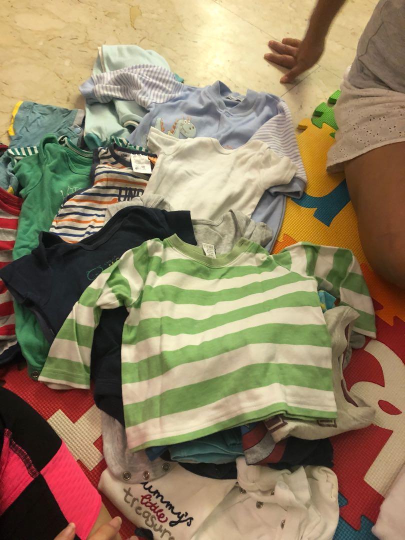 73e6ebc2f360 Baby boy clothes bundle 3-9 months old.