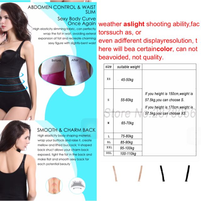 9331a5098 Women Post Natal Postpartum Slimming Underwear Shaper Recover Bodysuits  Shapewear Waist Corset Girdle Black