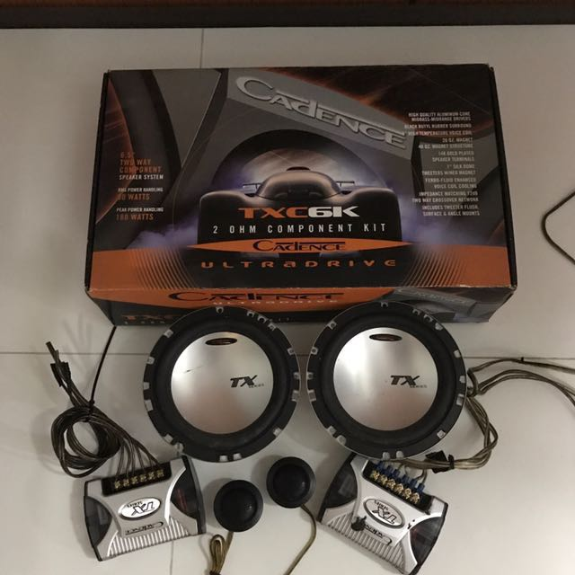 Cadence Component Speakers, Car Accessories on Carousell