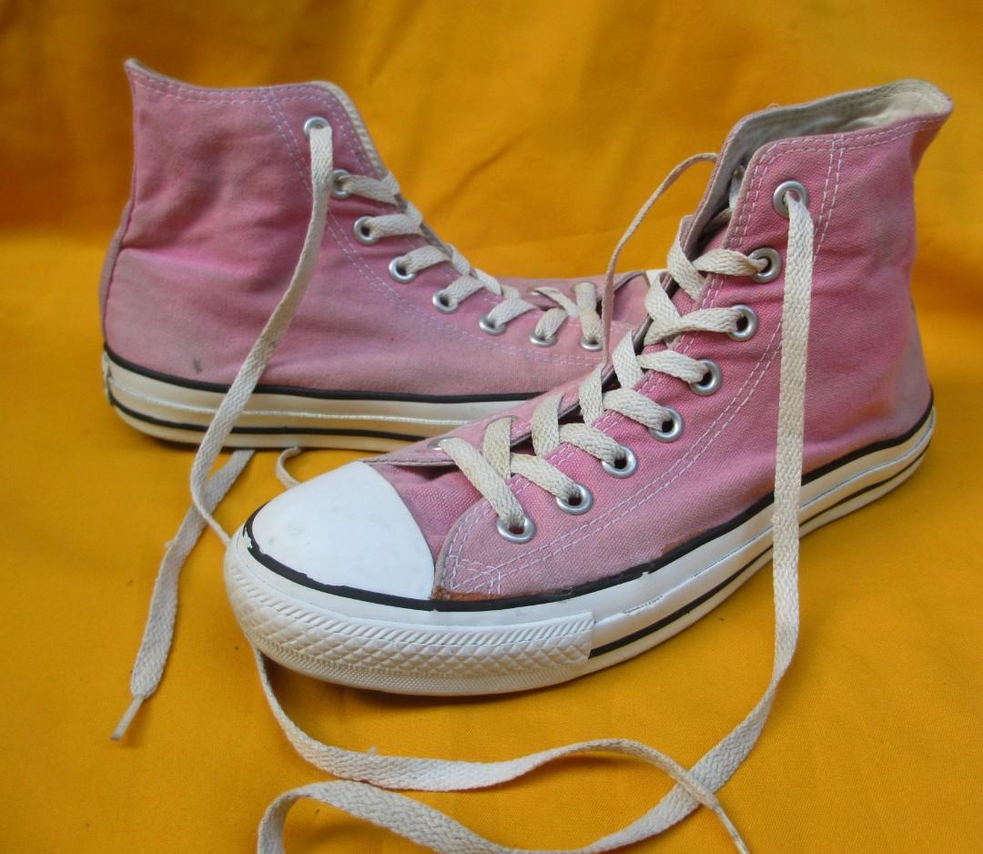 ecaa7b3b2c19 Converse CT HI pink Size 40 Kondisi 93% Price  270rb exc pass ...