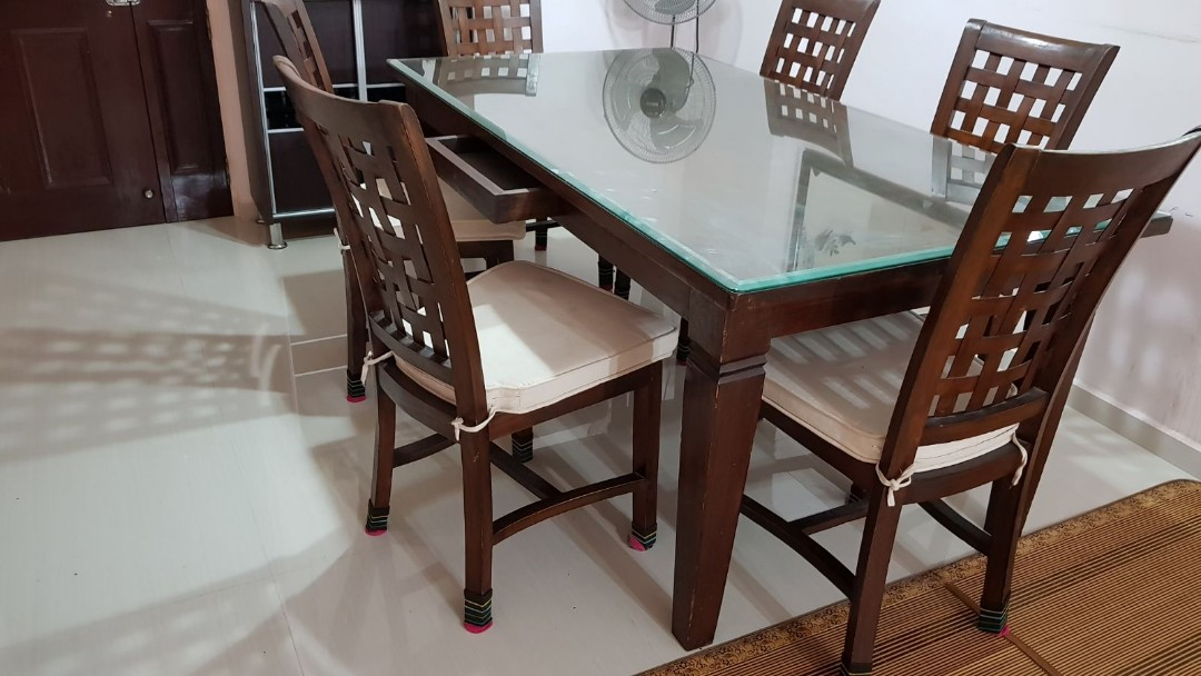 Dining Table Set Furniture Tables Chairs On Carousell - Looking for dining table and chairs
