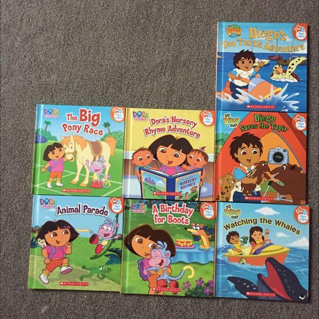 Dora / Diego Preschool, Children Books Nick JR, Books ...