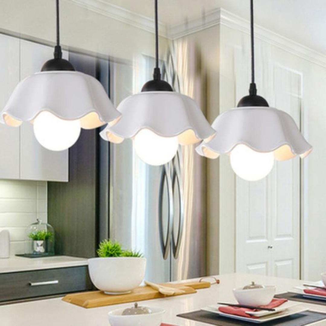 Elegant pendant light perfect for dining table settings