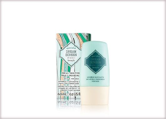 FREE GIFT WITH PURCHASE - NEW!! Benefit Specialist Dream Screen SPF 45++