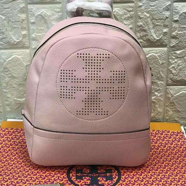 f1fbf124df6 FREE SHIP Tory Burch Backpack back pack bag for school -light pink ...