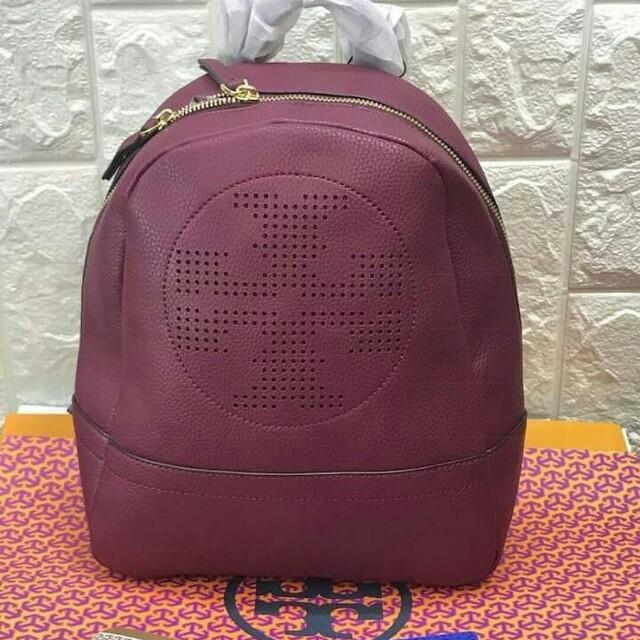 f3f50f8b65c FREE SHIP Tory Burch Backpack back pack bag for school -pink ...