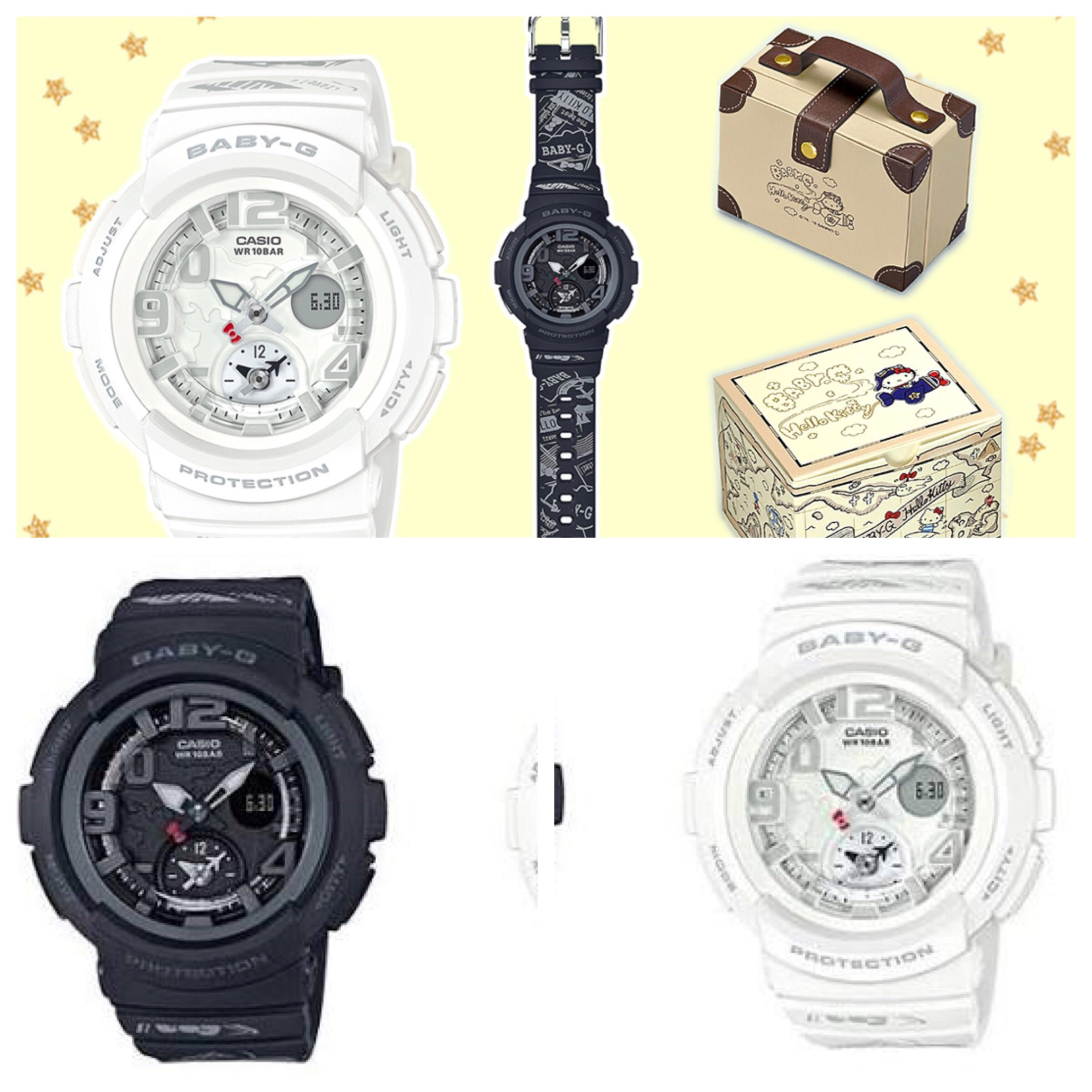 51e9f7538 Hello kitty 2018 baby g watch (Limited Edition) JAPAN, Women's Fashion, Watches  on Carousell