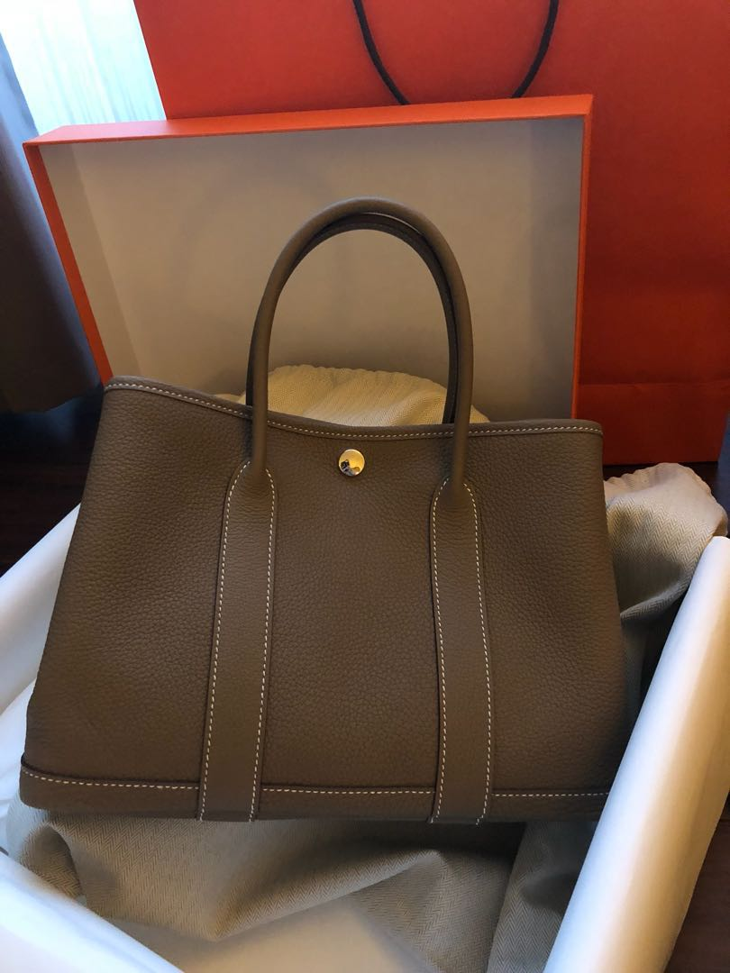 Hermes Garden Party 30 Price Reduced For Limited Time Only