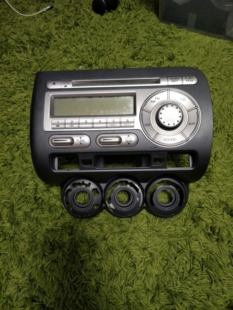 Honda Fitjazz Original Radio Set Car Accessories On Carousell