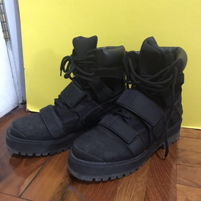 Hood By Air Hba X Forfex Avalanche Boot Mens Fashion Mens