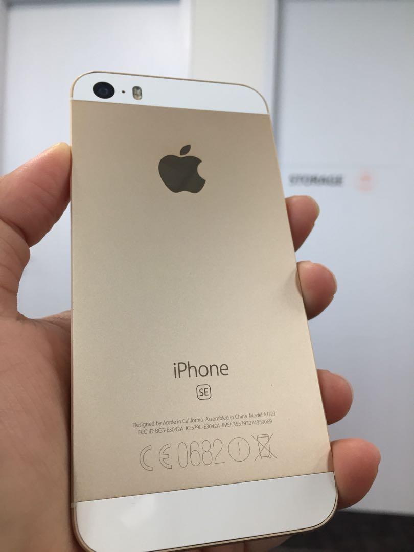 Iphone 5 Se 64gb Gold Mobile Phones Tablets On Carousell Garansi 1 Tahun