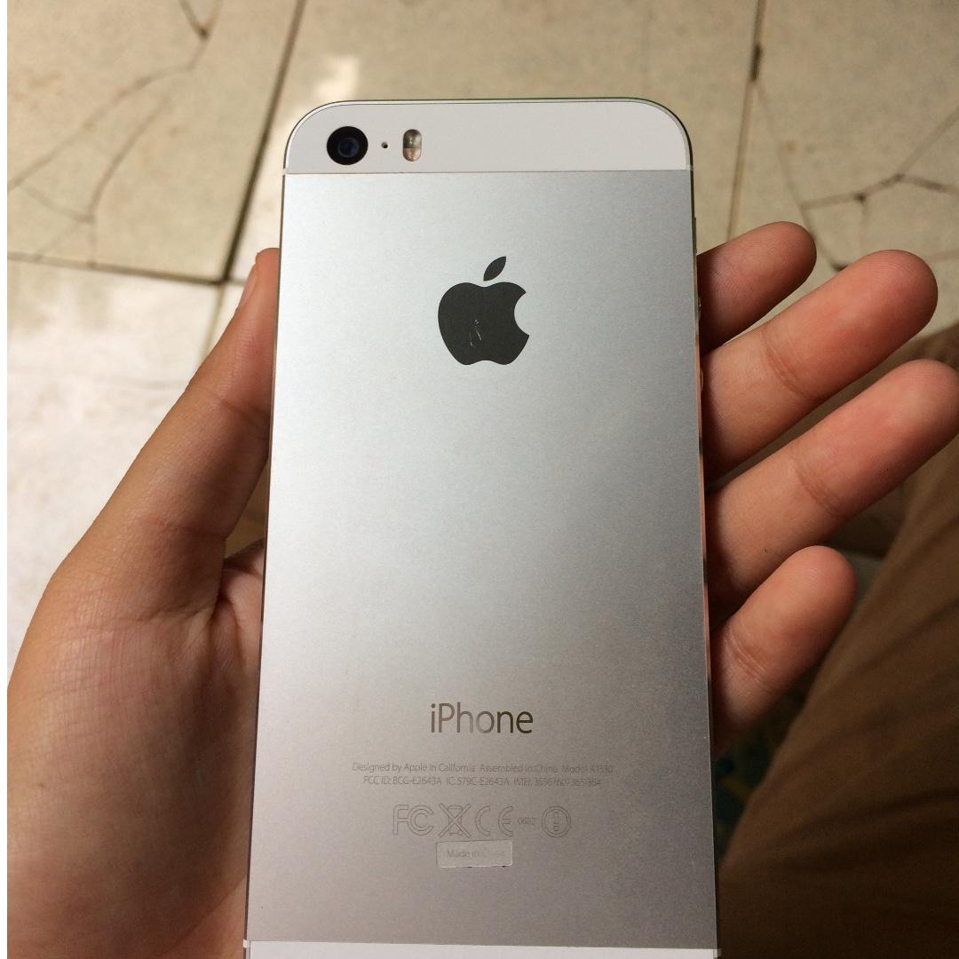 Iphone 5s 16 gb silver 6291e788d5