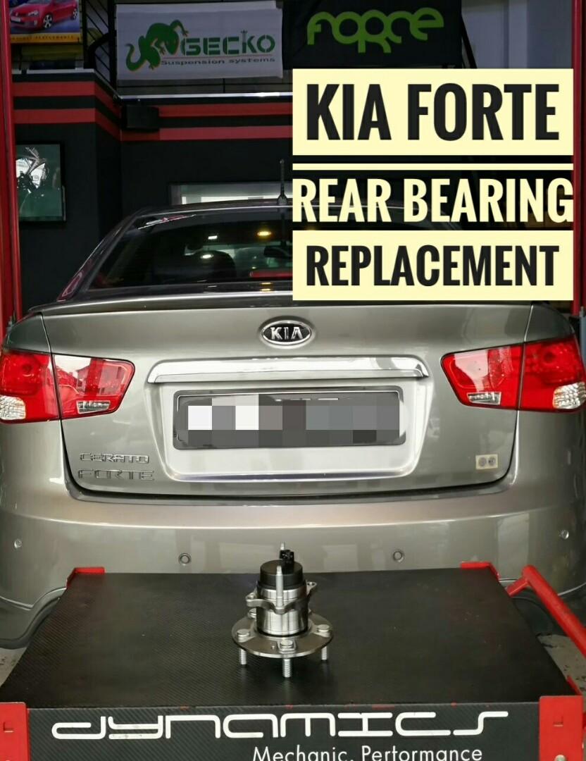Kia Forte: Replacement