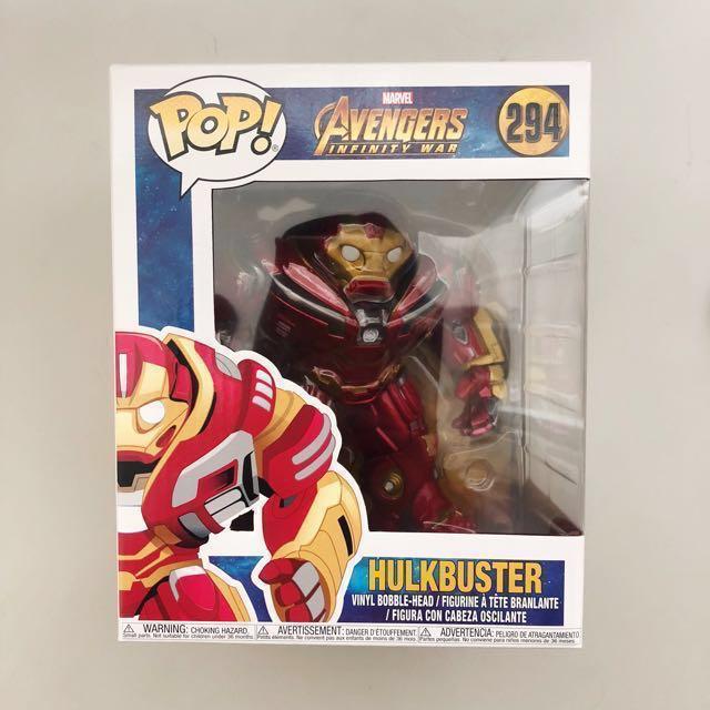 adeab5921eb LAST INSTOCK) Marvel Avengers Infinity War Hulkbuster 6 Inch Pop ...