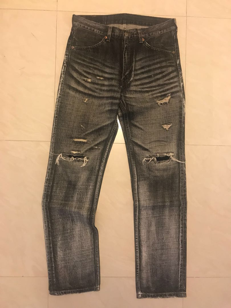 Levi's 519 skinny jeans W 29 L 30 mens on Carousell