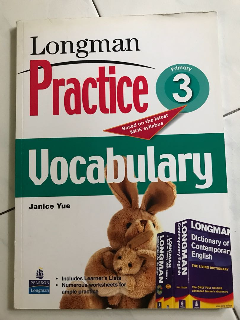 Longman Practice Vocabulary For P3 Books Stationery Textbooks On