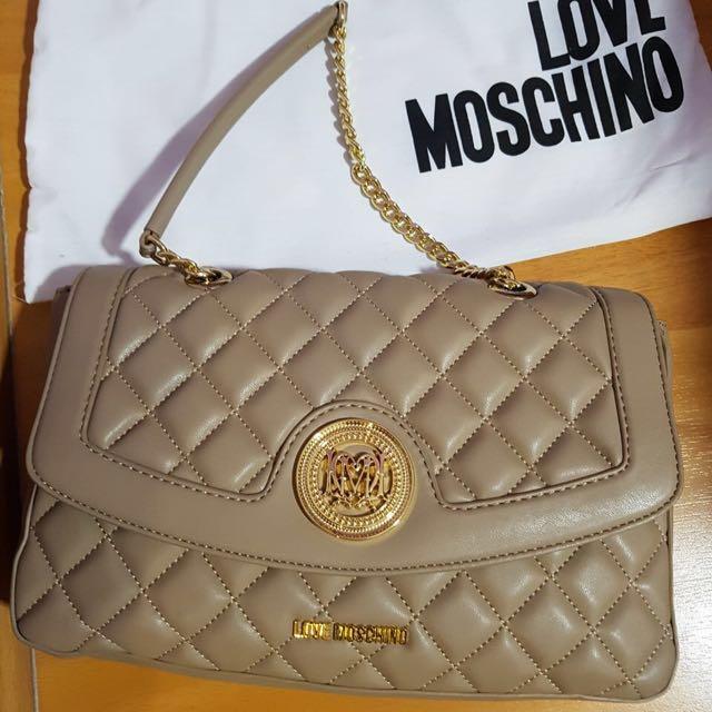 Love Moschino Super Quilted Flap Bag Women S Fashion Bags b8f3fbc5eff90
