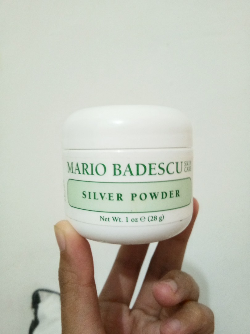 Mario Badescu Silver Powder (1oz/28gr) + Free Toner Mineral Botanica Acne Treatment, Health & Beauty, Skin, Bath, & Body on Carousell