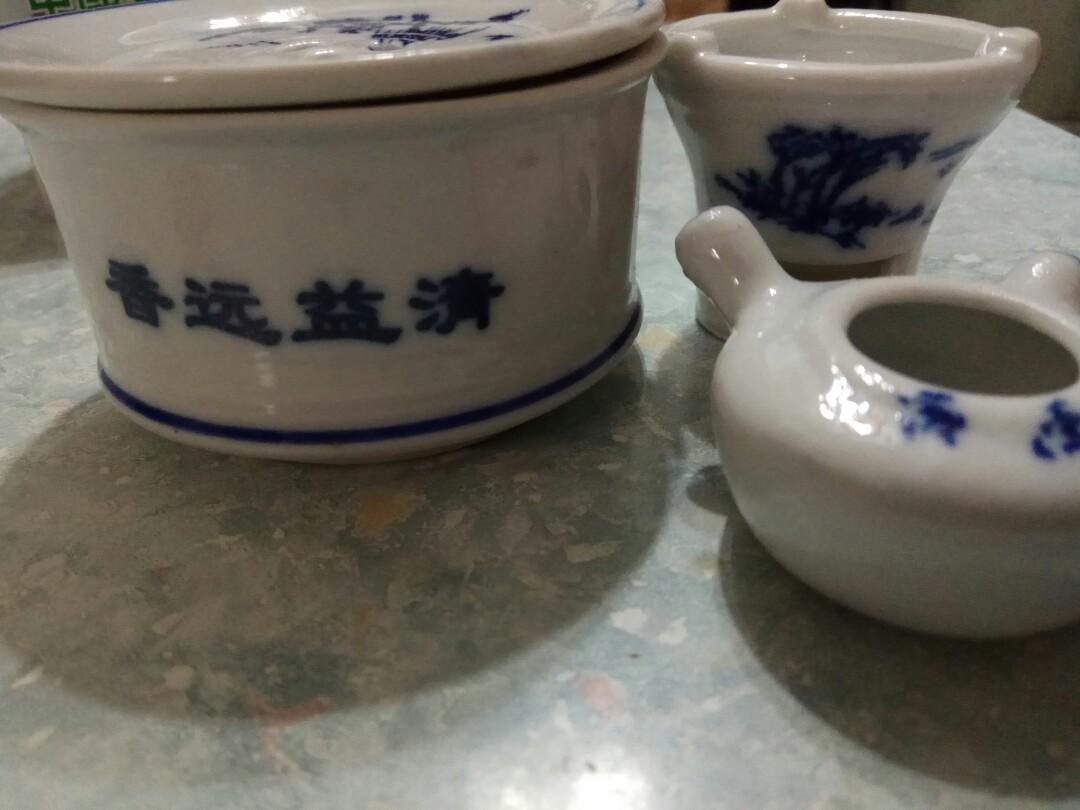 Miniature China tea set 迷你茶具模型套裝