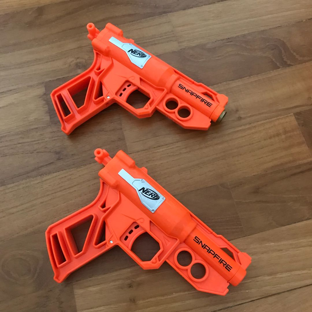 Modified Nerf Snapfire, Toys & Games, Others on Carousell