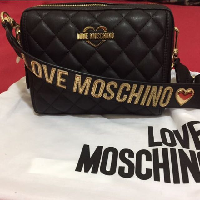 cheap price professional sale closer at Moschino Sling Bag ( Price reduced )