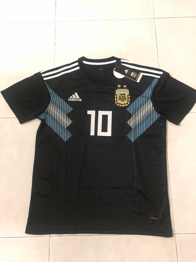 separation shoes 123bb 26839 New 2018 Argentina World Cup Away Jersey M Size Messi 10 ...