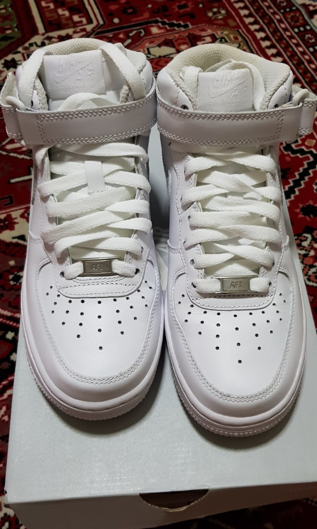 sale retailer e665a d0ab7 Nike Air Force 1 Mid, Women's Fashion, Shoes on Carousell
