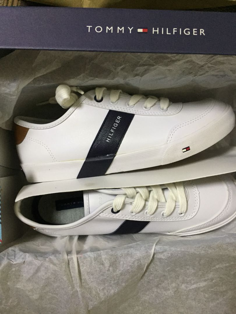9e7f544cc Original TOMMY HILFIGER sneakers white shoes