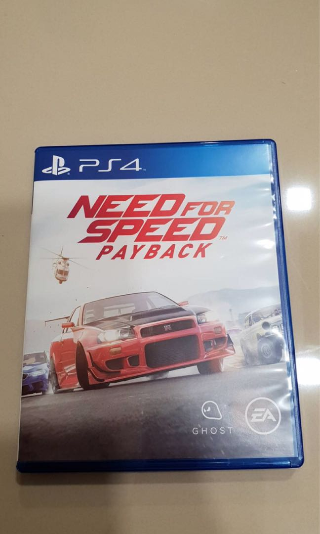 Ps4 Need For Speed Payback Toys Games Video Gaming Video