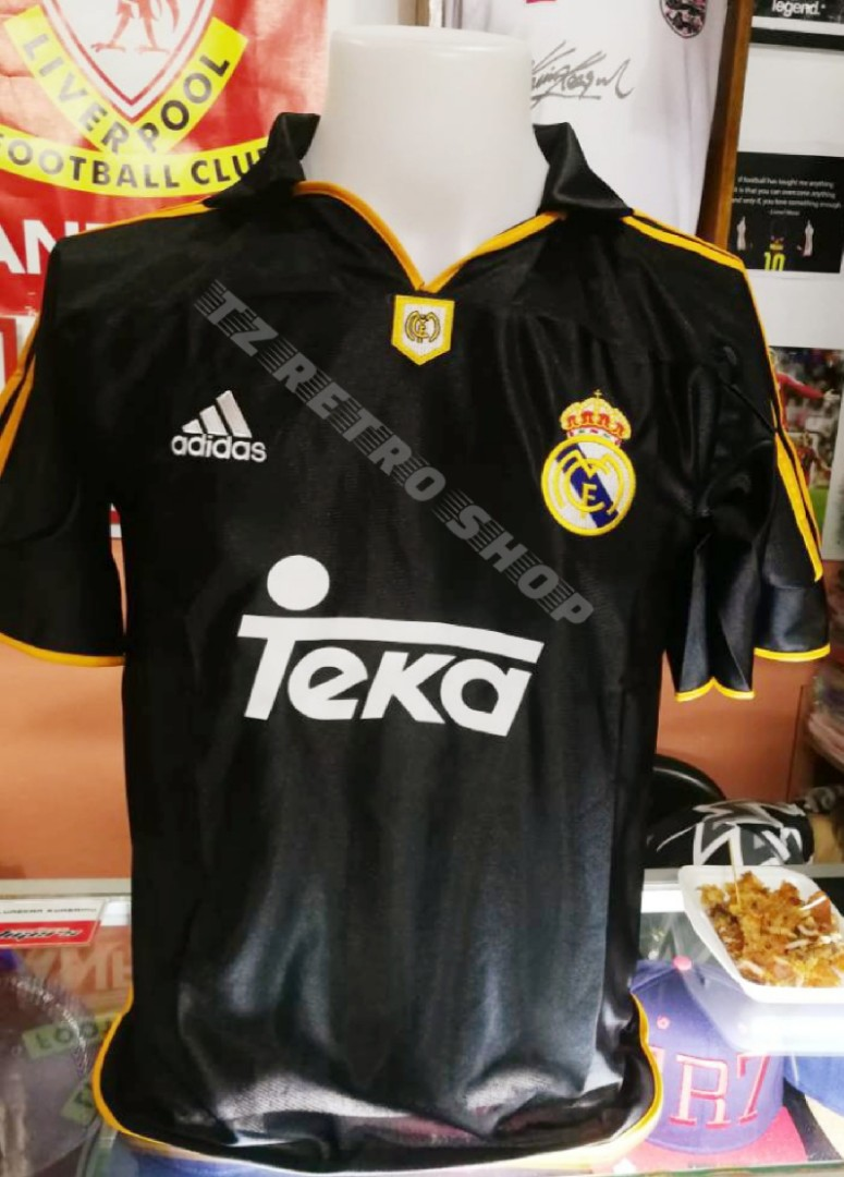 info for 46f91 114de Retro Jersey Real Madrid Away 1999/2000