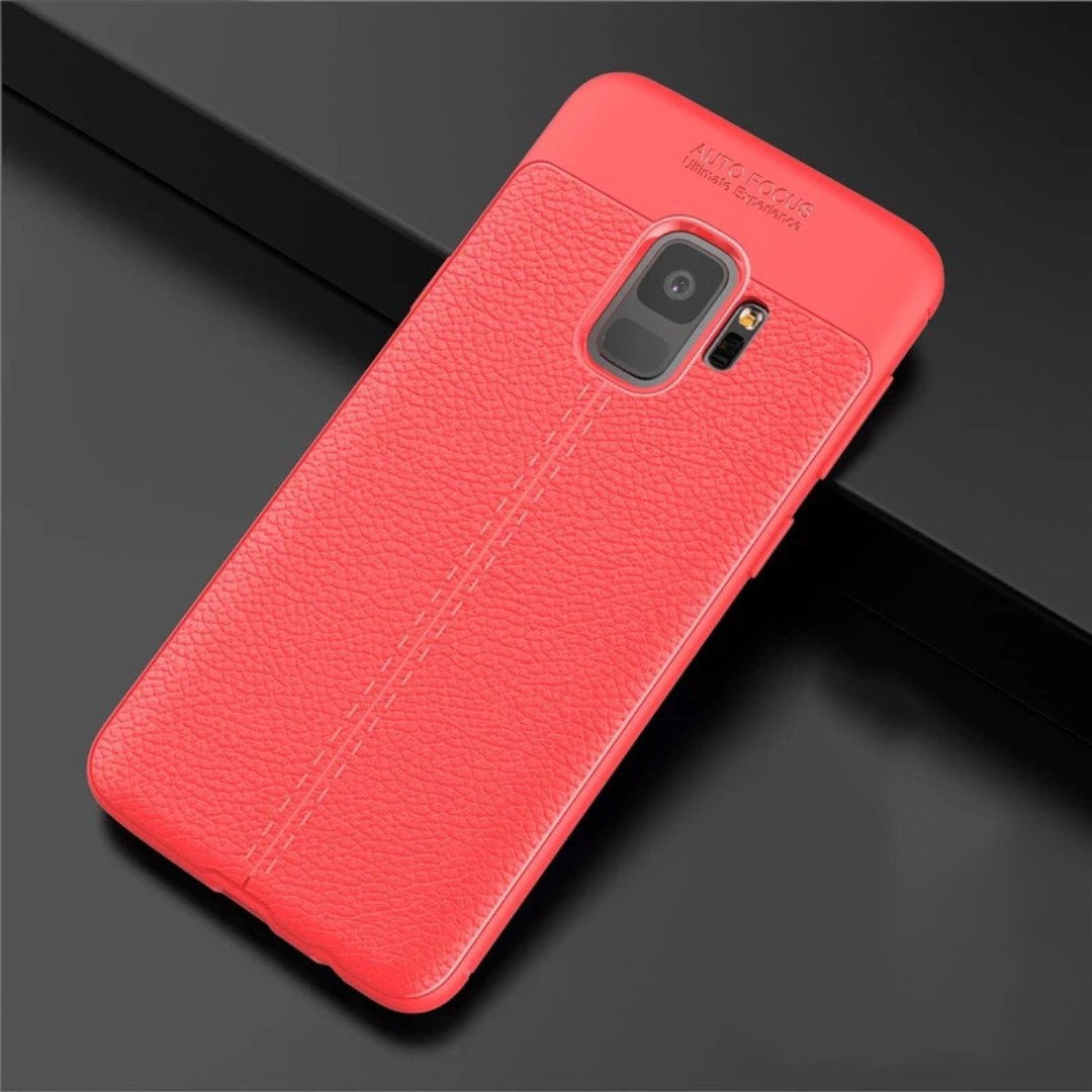 Samsung S9 and S9+ Leather Cover