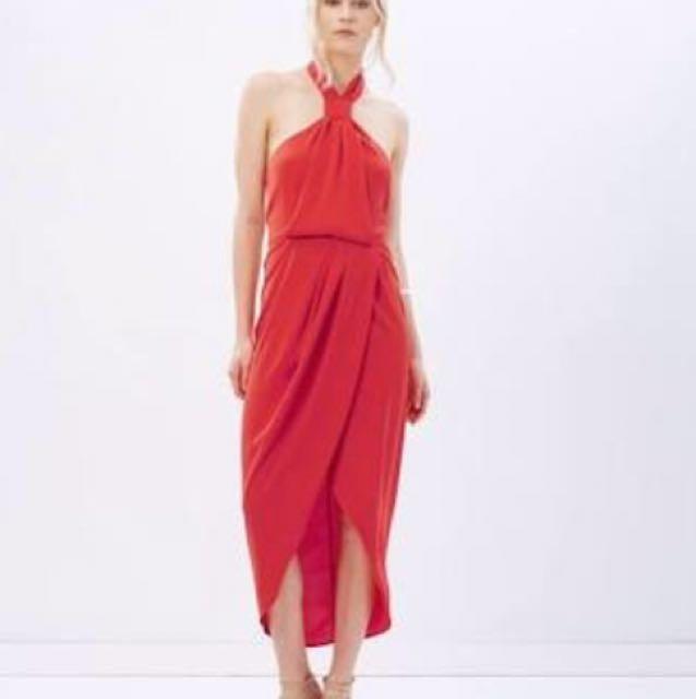 f67d87d07e75 shona joy - Core Knot Draped Dress, Women's Fashion, Clothes on Carousell