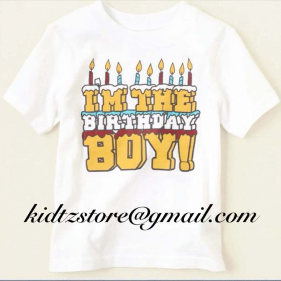 TCP Birthday Boy Tee Babies Kids Boys Apparel On Carousell
