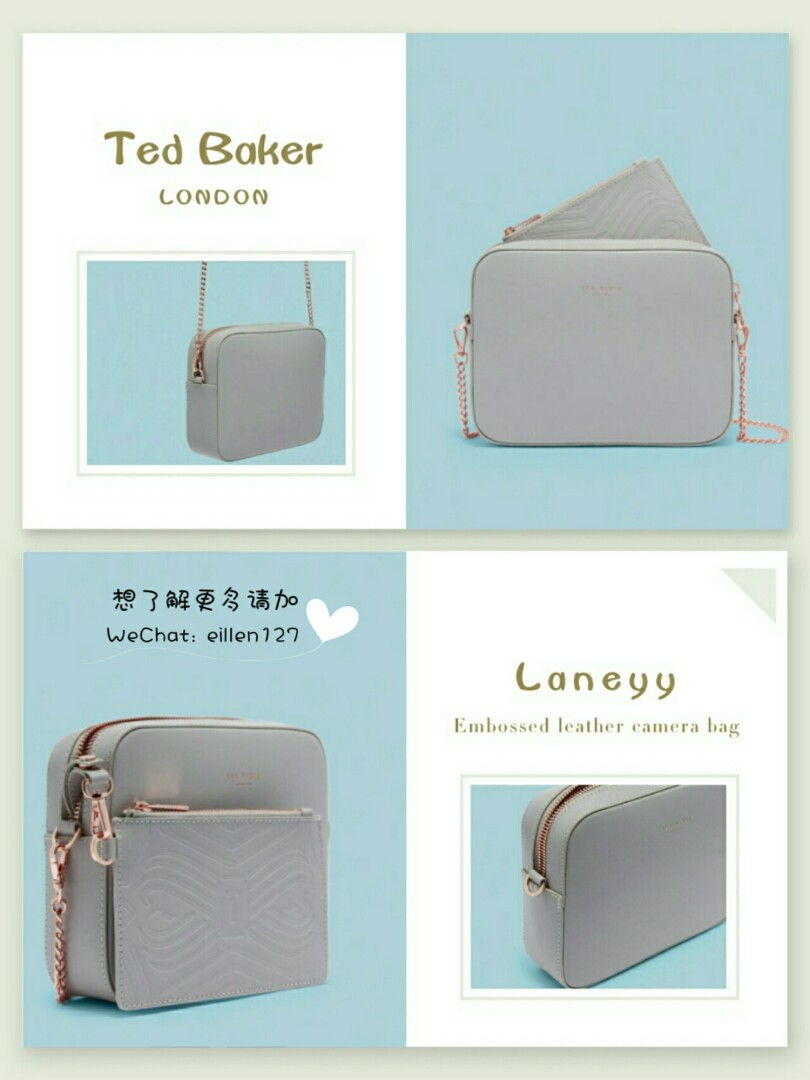 e39c46684 Ted Baker Laneyy Embossed leather camera bag, Women's Fashion, Bags &  Wallets on Carousell